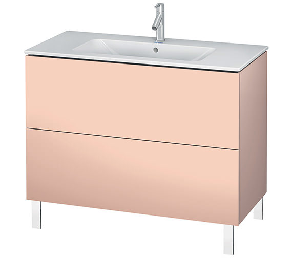 Alternate image of Duravit L-Cube 1020mm Floor Standing Vanity Unit With Me By Starck Basin