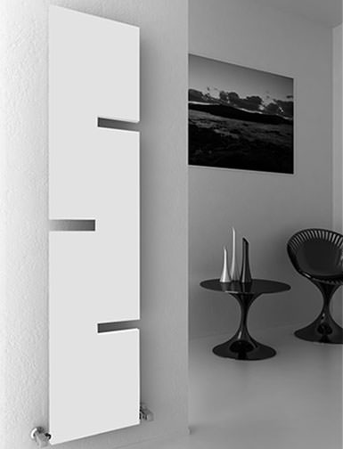 Reina Fiore 1800mm High Designer Steel Radiator Anthracite Or White