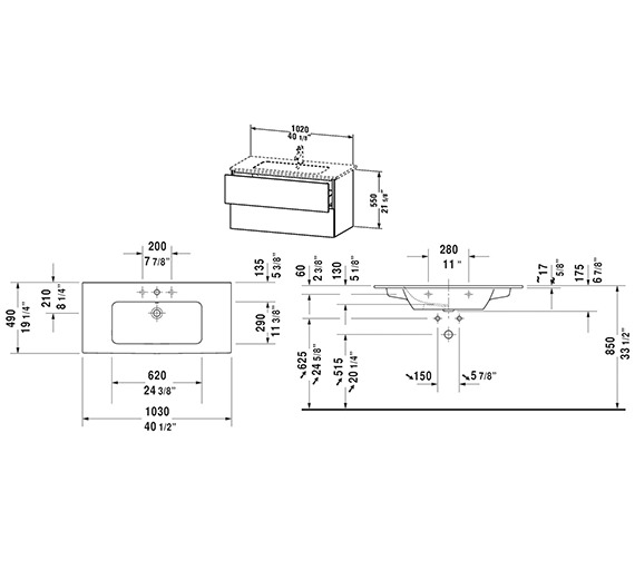 Technical drawing QS-V63770 / LC624001818