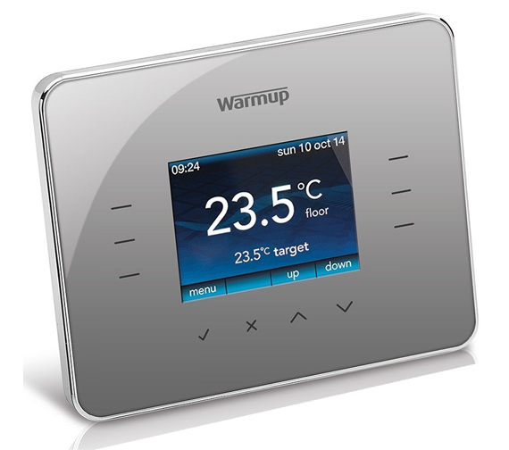 Additional image of Warmup 3iE Energy-Monitoring Thermostat