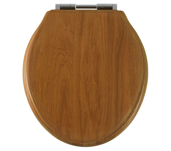 Additional image of Roper Rhodes Greenwich Solid Wood Toilet Seat Antique Pine