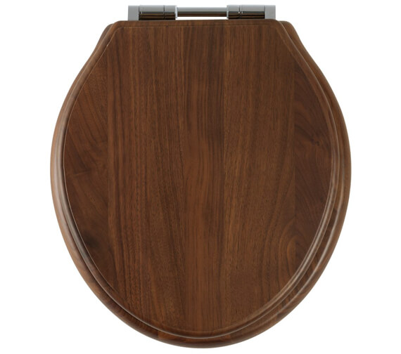Alternate image of Roper Rhodes Greenwich Solid Wood Toilet Seat Antique Pine