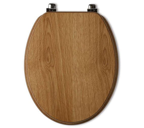 Additional image of Tavistock Millennium Wood Veneer Toilet Seat Mahogany