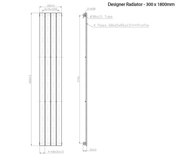 Technical drawing QS-V21345 / RA049