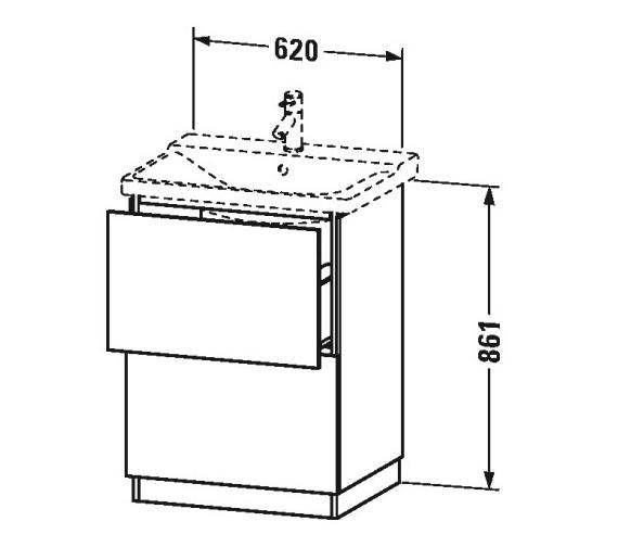 Technical drawing QS-V63359 / LC661201818