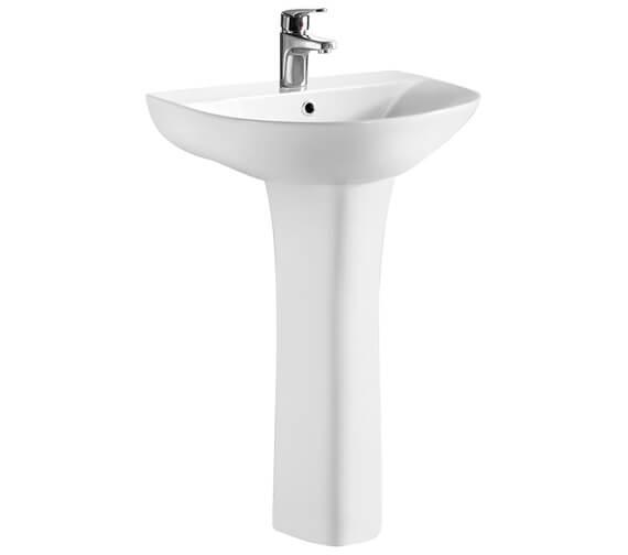 Premier Freya 550mm Basin And Pedestal