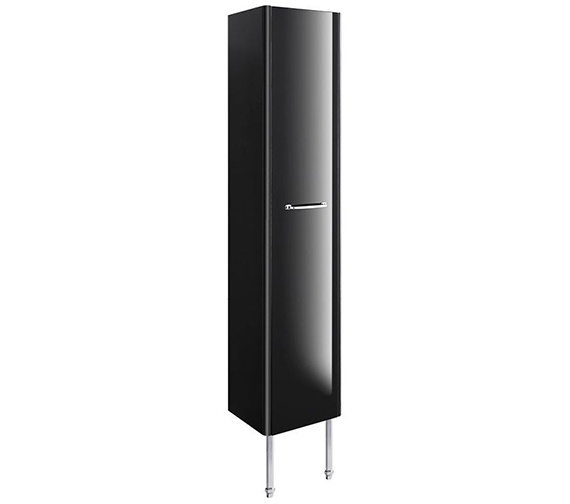Alternate image of Bauhaus Waldorf 350mm White Gloss Tower Unit With Legs And Handle