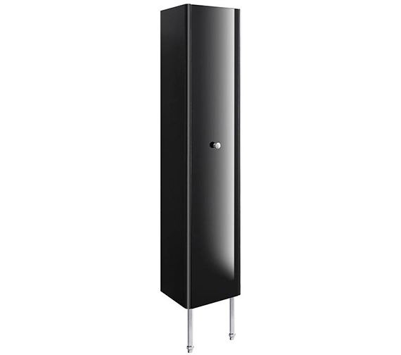 Additional image of Bauhaus Waldorf 350mm White Gloss Tower Unit With Legs And Handle