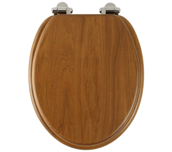 Additional image of Roper Rhodes Traditional Soft Close Toilet Seat Mahogany