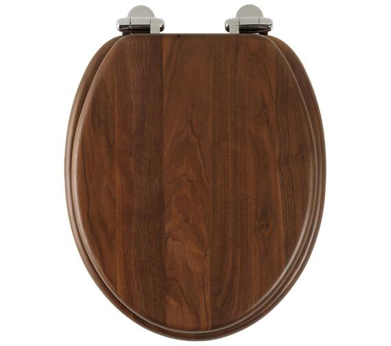 Alternate image of Roper Rhodes Traditional Soft Close Toilet Seat Mahogany