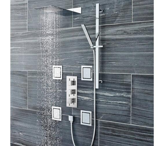 Hudson Reed Ultra Thin Fixed Shower Head