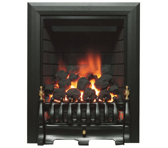 Be Modern Classic Traditional Full Depth Inset Gas Fire Black - 9571