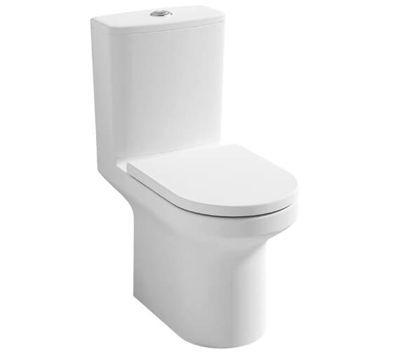 Pura Alma 650mm Rimless Close Coupled WC Pan With Cistern
