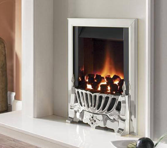 Additional image of Flavel Warwick Manual Control Traditional Gas Fire Black