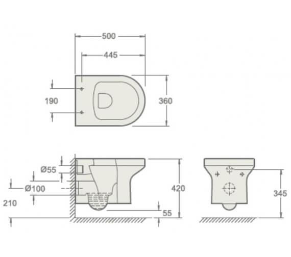 Technical drawing QS-V92123 / CH10156R