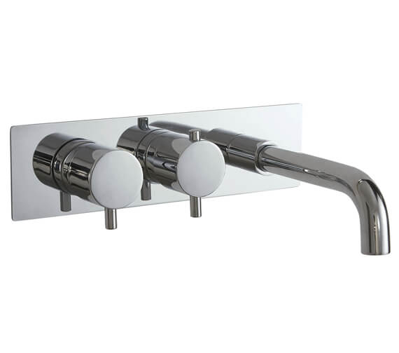 Phoenix RO Series Concealed Single Function Twin Valve With Bath Spout