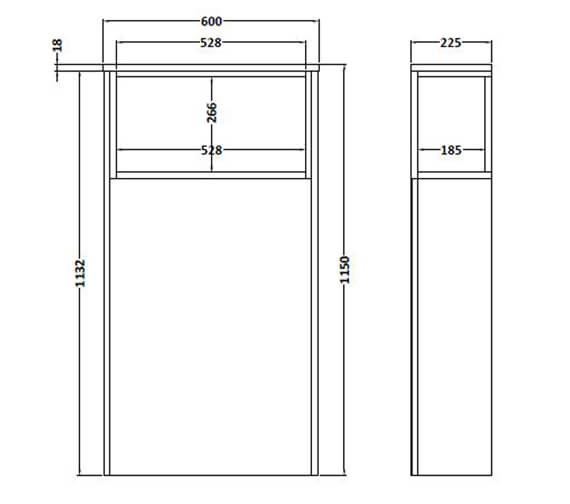 Technical drawing QS-V90045 / FMC956