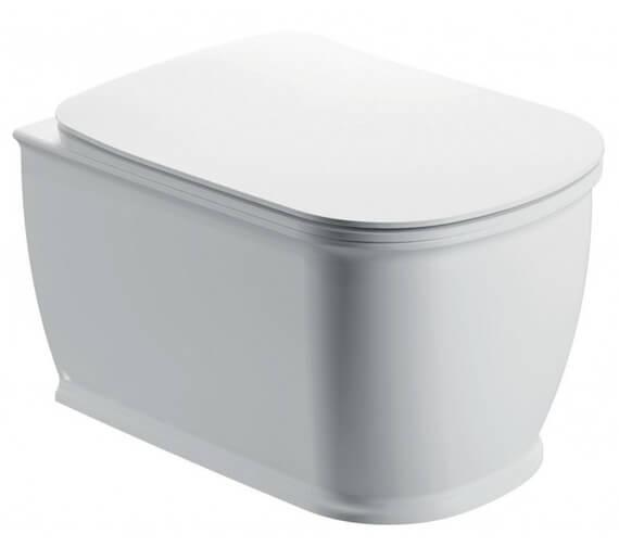 Pura Liberty 520mm Rimless Wall Hung WC