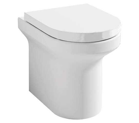 Pura Alma 520mm Back To Wall WC Pan