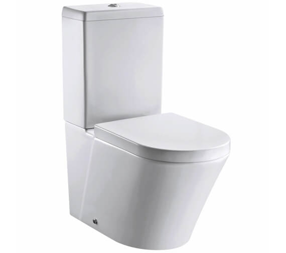 Pura Arco 660mm Closed Back Close Coupled WC Pan With Cistern