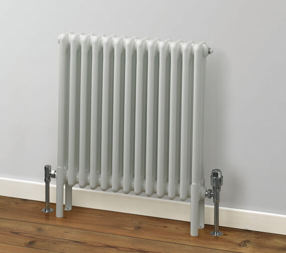 MHS Rads 2 Rails Fitzrovia 500mm Height Horizontal 3 Column Radiator