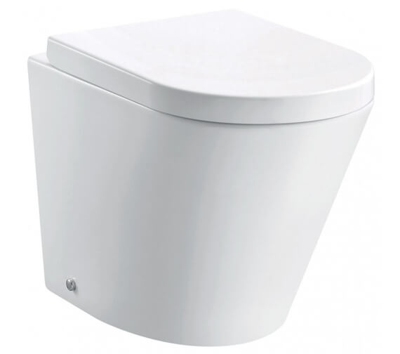 Pura Arco 520mm Rimless Back To Wall WC Pan