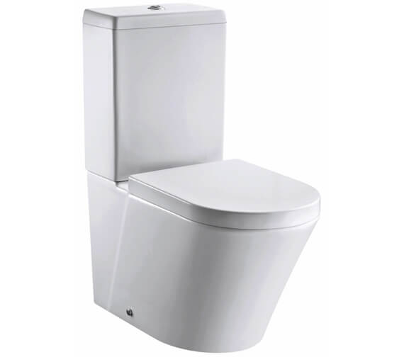 IMEX Arco 660mm Rimless Closed Back Close Coupled WC Pan With Cistern