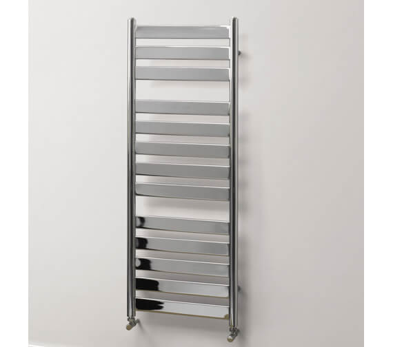MHS Rads 2 Rails Hammersmith Straight Dual Fuel 500mm Wide Towel Rail