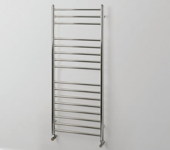 MHS Rads 2 Rails Belsize Electric Only 500mm Wide Straight Towel Rail