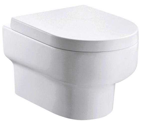 IMEX Duro 500mm Rimless Wall Hung WC Pan