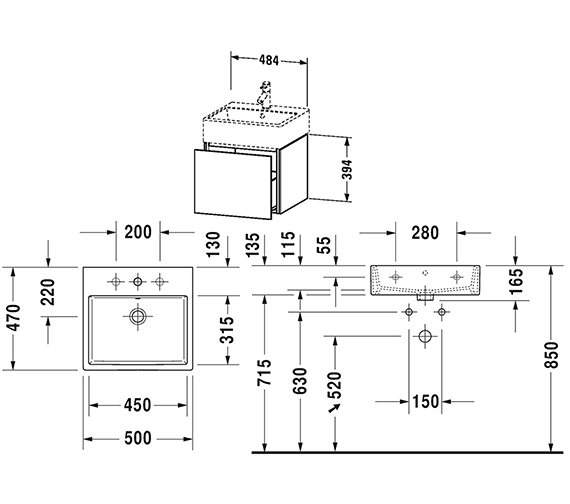 Technical drawing QS-V80783 / LC617401818