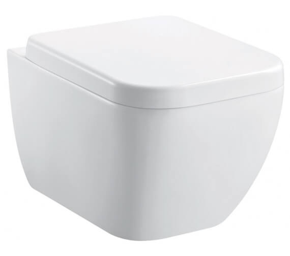 Pura Essence 500mm Rimless Wall Hung WC Pan