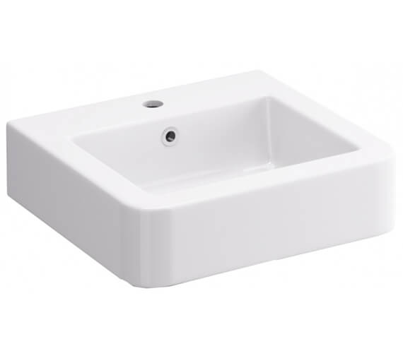 IMEX Suburb 450mm Cloakroom Basin With One Tap Hole