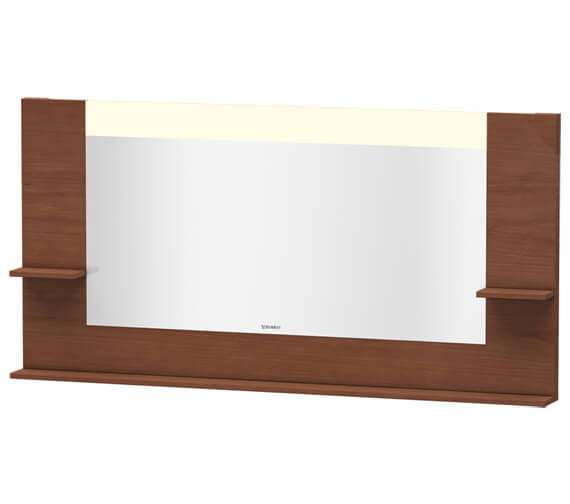 Alternate image of Duravit Vero 1600mm Mirror With Shelves To Sides And Below