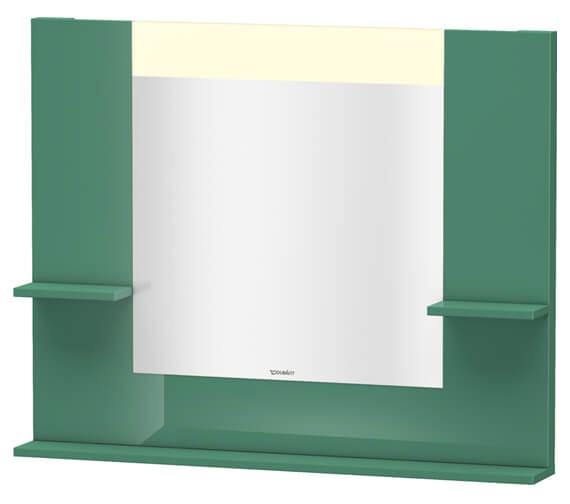 Alternate image of Duravit Vero 1000mm Mirror With Shelves To Sides And Below