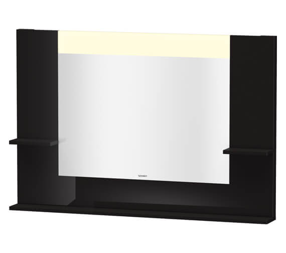 Alternate image of Duravit Vero 1200mm Mirror With Shelves To Sides And Below