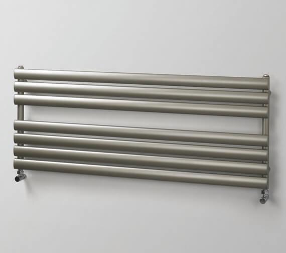 MHS Rads 2 Rails Finsbury Wide 500mm Towel Rail