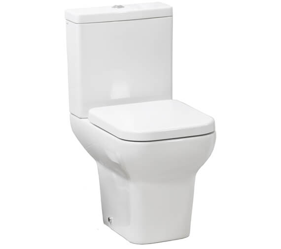 Pura Suburb Open Back Close Coupled WC Pan With Cistern