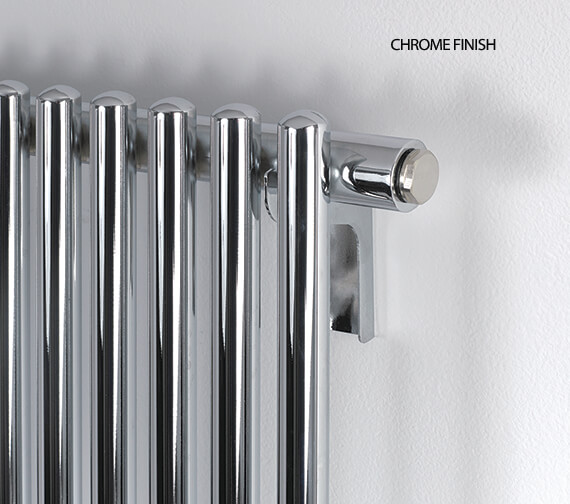 Additional image of MHS Rads 2 Rails Marylebone 399 x 1760mm Radiator Anthracite Or Chrome Finish Available