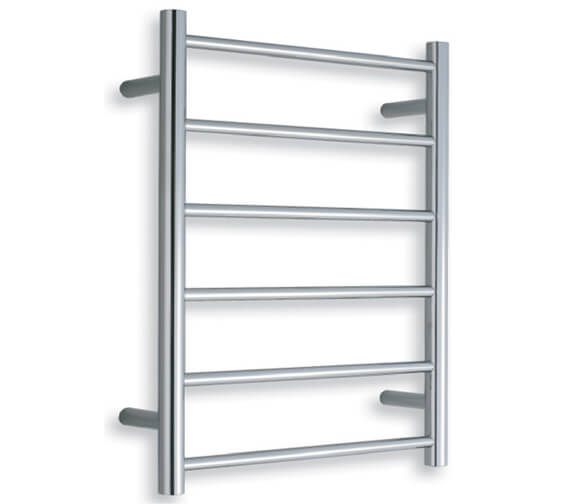 Warmup Straight 450 x 680mm Heated Electric Towel Rail