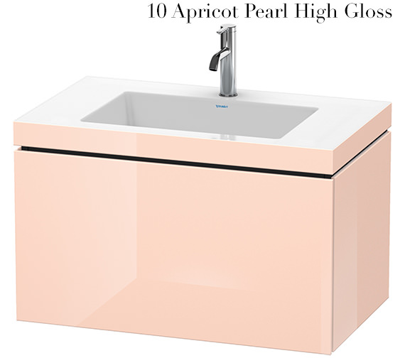 Alternate image of Duravit L-Cube 800mm 1 Drawer Vanity Unit With C-Bonded Basin