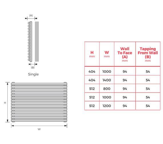 Technical drawing QS-V13955 / BATHWH-S-4010