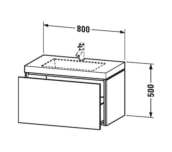 Technical drawing QS-V80807 / LC6917N1818