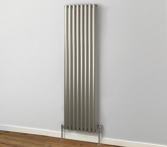 MHS Rads 2 Rails Finsbury 1800mm High Vertical Double Radiator