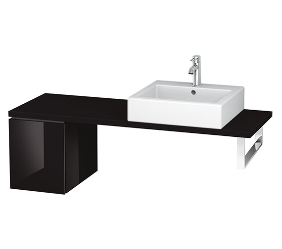 Alternate image of Duravit L-Cube 320mm 1 Drawer Floor Standing Vanity Unit For Console