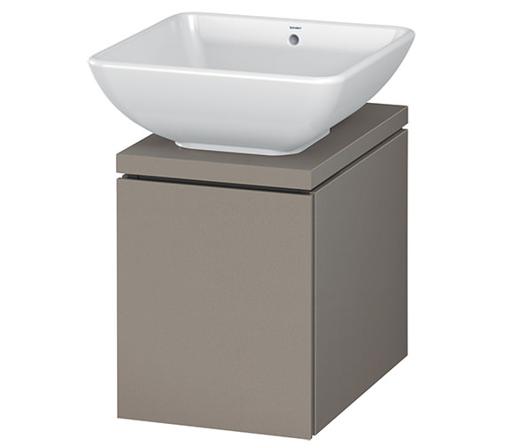 Additional image of Duravit L-Cube 320mm White Matt 1 Drawer Vanity Unit For Console