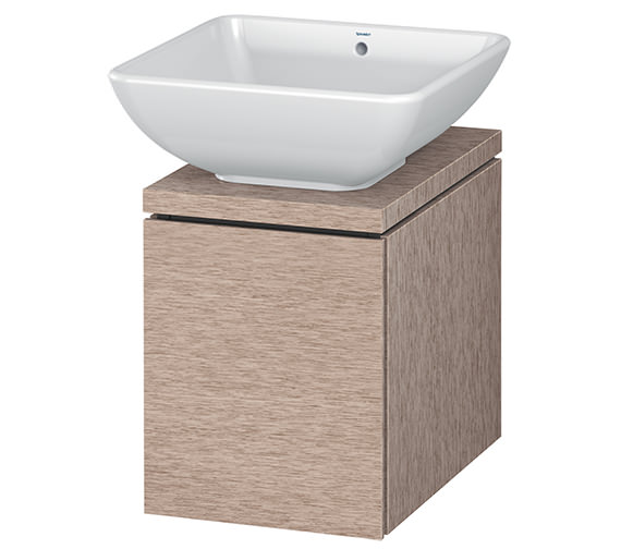 Alternate image of Duravit L-Cube 320mm White Matt 1 Drawer Vanity Unit For Console