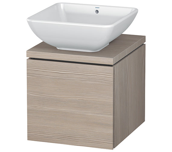 Additional image of Duravit L-Cube 420mm 1 Drawer Vanity Unit For Console
