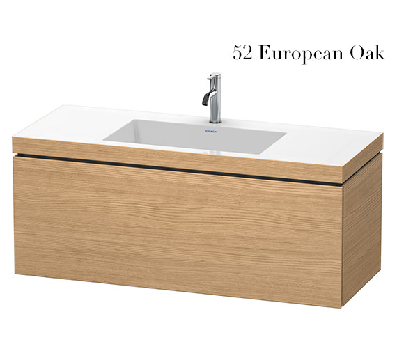 Alternate image of Duravit L-Cube 1200mm 1 Drawer Vanity Unit With C-Bonded Basin