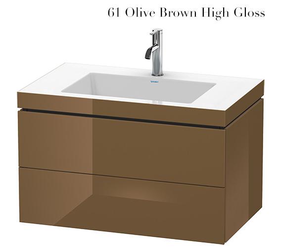 Alternate image of Duravit L-Cube 800mm 2 Drawer Vanity Unit With C-Bonded Basin